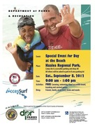 Department of Parks and Recreation present - Special Event for Day at the Beach