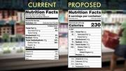 FDA Proposes New Rules to Nutrition Labels